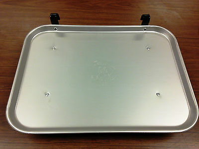 12 count Vintage Style Aluminum Car Hop Tray - Larger Size