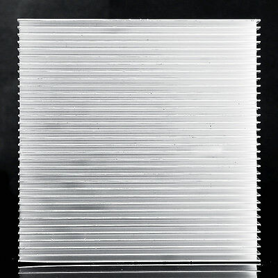 Aluminum Heat Sink For LED Power IC Transistor New High Quality  90x90x15mm