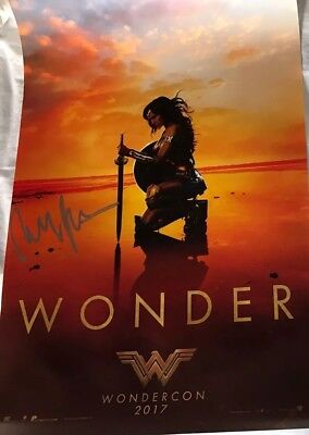 Wonder Woman Wondercon Signed By Director Patty Jenkins  Poster 2017