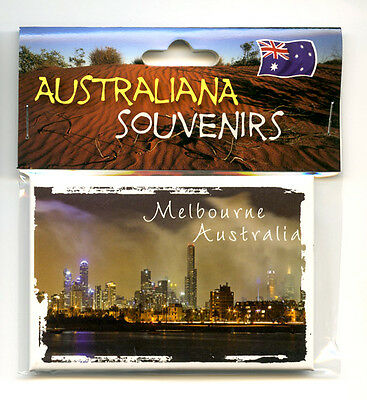 Melbourne Australia, Photo, Image, Fridge Magnet, Souvenir.