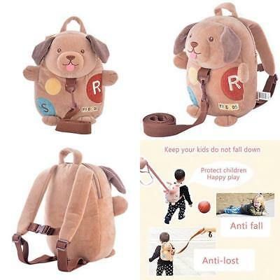 Safety Toddler Harness Backpack Adjustable Strap Child Girl Walking Leash Keeper
