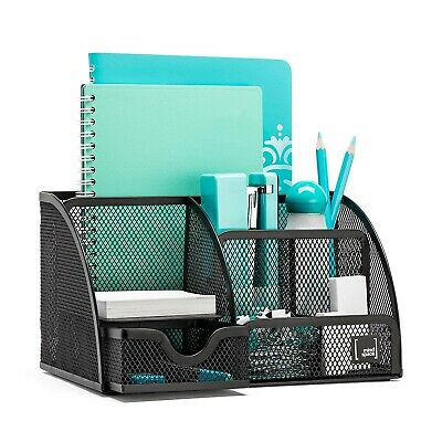 Mindspace Office Desk Organizer with 6 Compartments + Drawer | The Mesh Colle...