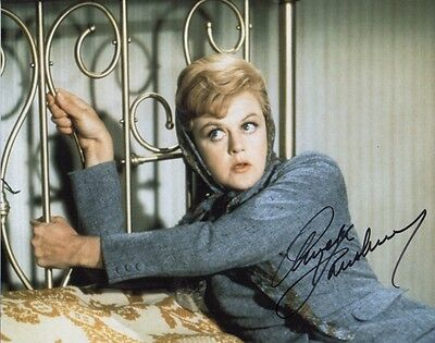 Angela Lansbury Bedknobs And Broomsticks   Signed 10-8 Photo