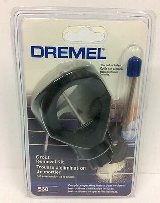Dremel Grout Removal Kit. #568 #26150568AB