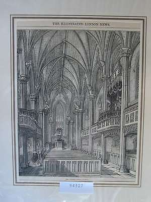 94327-Irland-Ireland-Eire-Dublin Chapel Royal-T Holzstich-Wood engraving