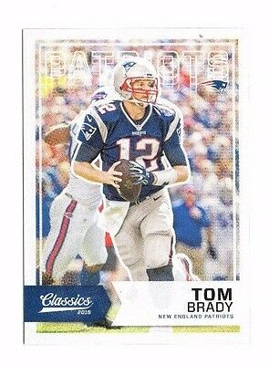 2016 Panini Classics, Patriots, Team Set !! 5 Cards !! Tom Brady !!