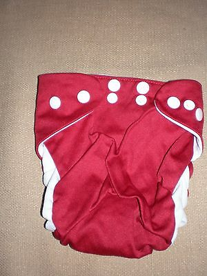 Cushie Tushies Tadpole material nappy covers x 2 pairs Aust owned & design OS