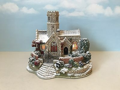 Lilliput Lane (L2621) LEAD KINDLY LIGHT IN WINTER With Box & Deeds *Illuminated*