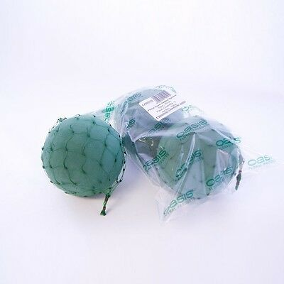 OASIS® Ideal Floral Foam Netted Spheres in 12cm and 16cm floral weddings crafts