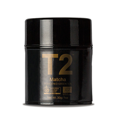 T2 Authentic 100% Organic Matcha, 30 g  -highly prized powdered green tea