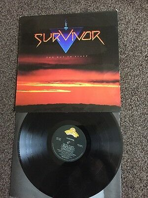 SURVIVOR Too Hot To Sleep 1988 UK  vinyl LP EXCELLENT CONDITION