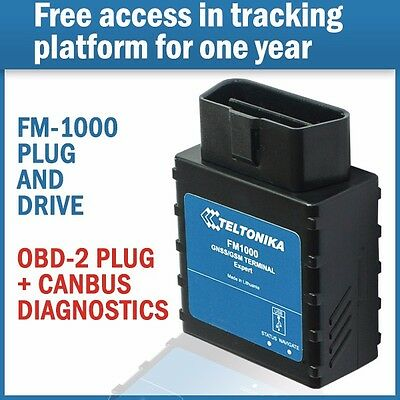Teltonika FM-1000 OBD-2 Tracking device for vehicles