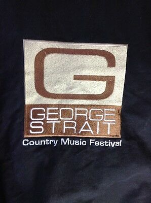 Vintage George Strait Country Music Festival   Jacket XL Concert  Music USA MADE