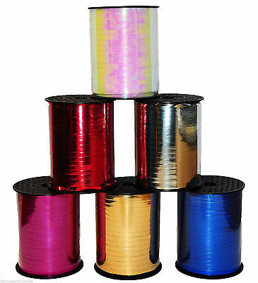 Curling Ribbon balloons Colour Metallic String all colors party birthday Ribbons