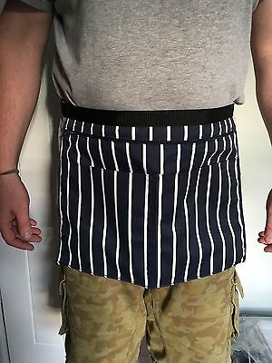 Market Trader Money Bag / Belt Car Boot Butchers Stripe 4 Pocket