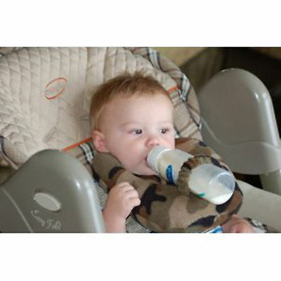 New Baby bottle holder hands free (Home made)