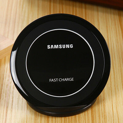 Fast Charger Wireless Charging Stand For Samsung Galaxy Note 5 S6 Edge + S7 S8+