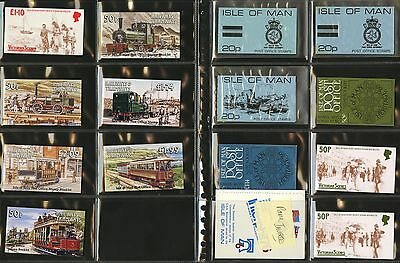 Isle of Man  Assorted New Mint Never Hinged Booklets