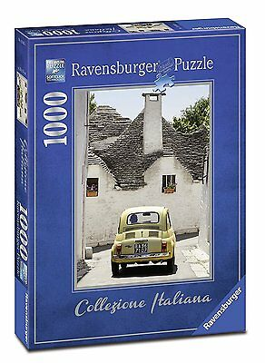 Puzzle 1000 Pezzi Italian Collection Alberobello Ravensburger 19665