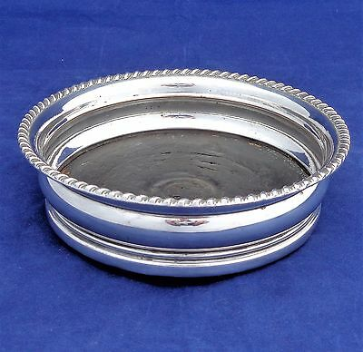 Early 19th Century Old Sheffield Silver Plated Decanter Stand or Bottle Coaster