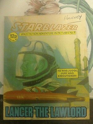 starblazer no9 from 1979- lancer the law lord.