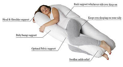 U Pillow Maternity / Pregnancy / Nursing Support Super Comfortable All Sizes.