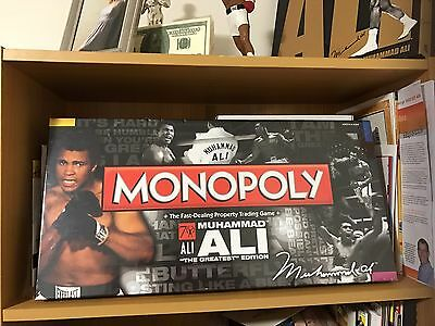 Muhammad Ali Monopoly Collectors Edition Brand New Sealed