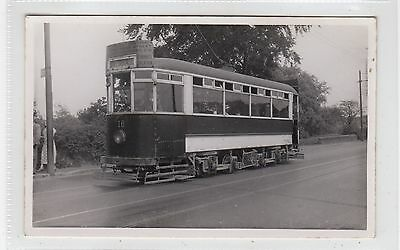 Picture postcard of a Falkirk Tram (C26267)