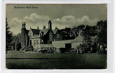 RUTHERFORD, WEST LINTON: Peeblesshire postcard (C25808)