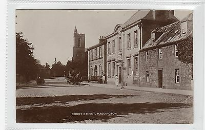 COURT STREET, HADDINGTON: East Lothian postcard (C25900)