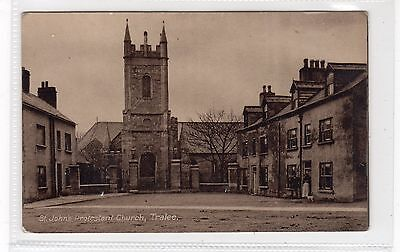 ST JOHN'S PROTESTANT CHURCH, TRALEE: Co Kerry Ireland postcard (C25732)