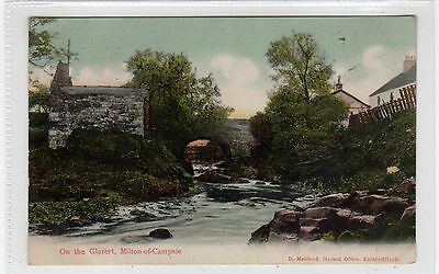 ON THE GLAZERT, MILTON OF CAMPSIE: Stirlingshire postcard (C26198)