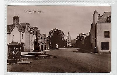 GIFFORD FROM SOUTH: East Lothian postcard (C25862)