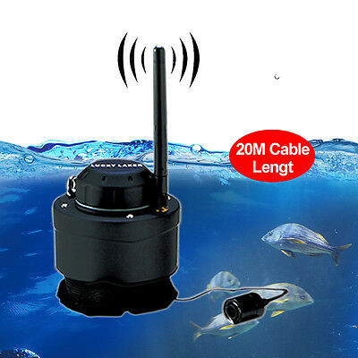 Wifi Underwater Camera for Fishing 80M Wireless for Android IOS Fish Finders NEW