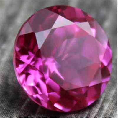 Noble Rose Red Ruby 4.63Ct Vvs Unheated 10Mm Round Shape Aaaa+ Loose Gemstones