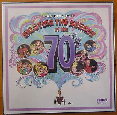 Saluting The Sounds Of The 70's Various Artists 1973 RCA Records 4-LP Box Set