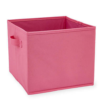 Koala Baby Canvas Bin - Dark Pink