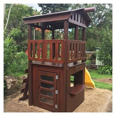New Kids Fort With Cubby House - Delivery Available