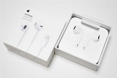 Genuine Apple iPhone 7 8 X Headset Earpods A1748 Lightning Cable Connector