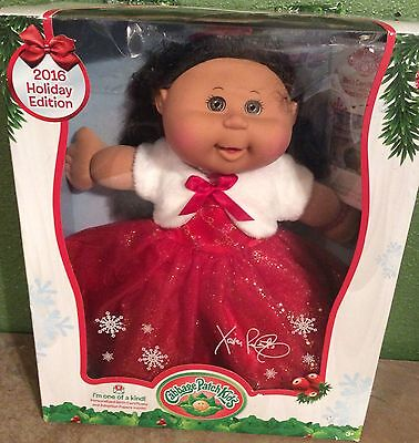 2016 Holiday Edition Cabbage Patch Kids Doll Raquel Corinna September 9th New