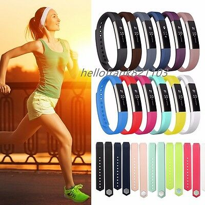Small Large Replacement Wrist Band Strap For Fitbit Alta HR Tracker Wristband