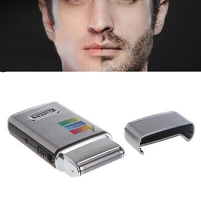 2in1 Stainless Steel Electric Double Edge Rechargeable Men Shaver Razor