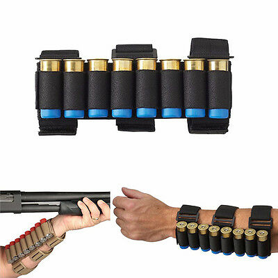 TFG Military Shotgun Shell Holder Forearm Carrier Shooter Arm Sleeve Mag Pouch