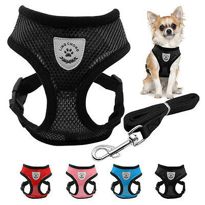 TFG Pet Control Harness for Dog & Cat Soft Mesh Walk Collar Safety Strap Vest