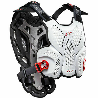 NEW Alpinestars Mx A-1 White Roost Guard Body Armour Motocross Chest Protector
