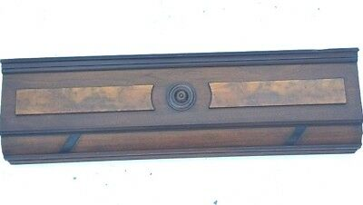 Antique Header/Pediment Architectural Accent Piece