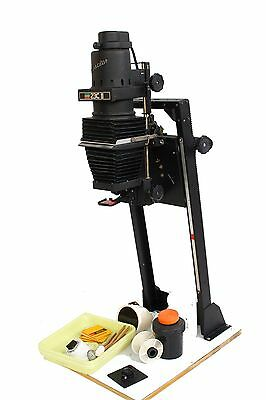 BESELER 23C  II B&W Darkroom ENLARGER NEGATIVE CARRIER, LENS