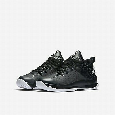 NEW! Nike Jordan Extra Fly BG Youth Basketball Trainer Shoes Anthracite Size 6