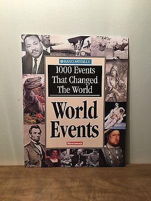 Newsweek - 1000 Events That Changed The World By Rand McNally (PB, 2000)