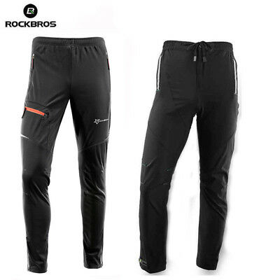 RockBros Safe Cycling Pants Casual Bicycle Bike Tights Sports Long Trousers